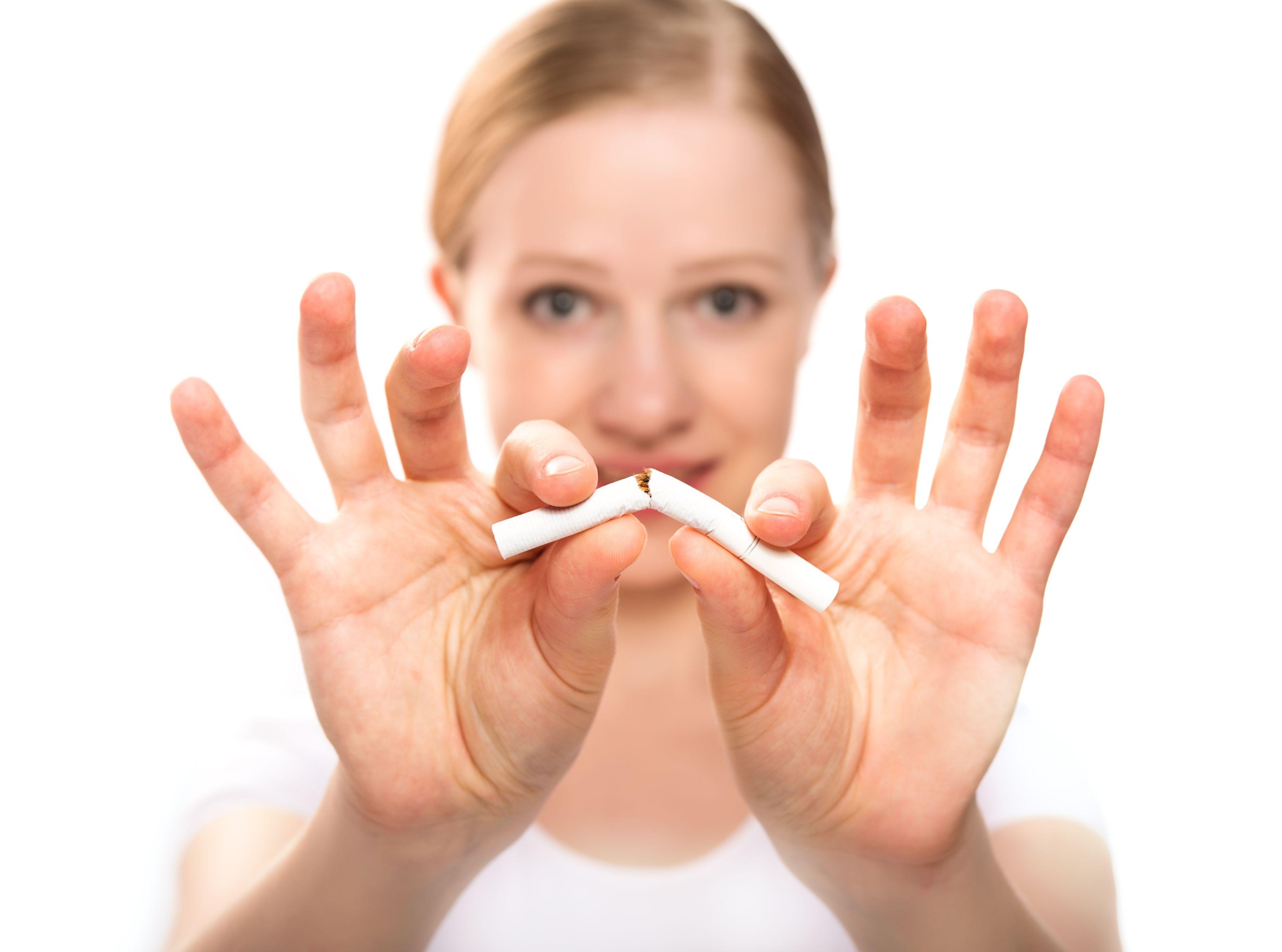 Como limpiar fácil después de que ha dejado a fumar por la leche