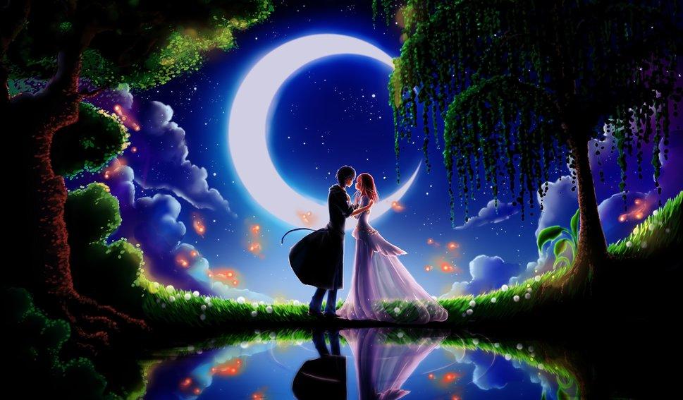 131176__art-night-moon-two-couple-love-dating-boyfriend-girlfriend-trees-lake-flowers-month_p