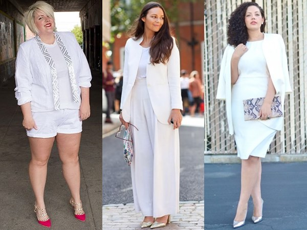 All-White-Fashion-for-Plus-Size-Women