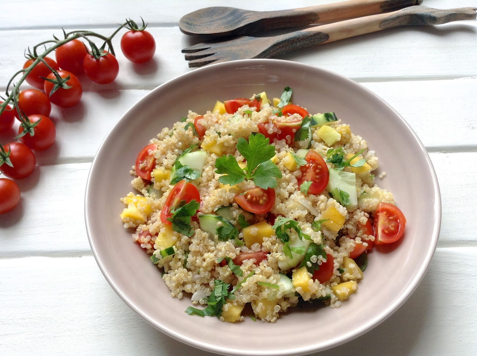 C mo evitar los excesos de las fiestas de fin de a o fmdos for Como se cocina la quinoa para ensalada