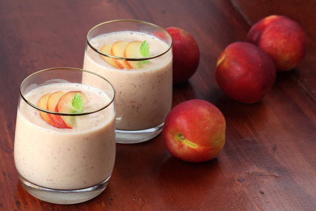 smoothie nectarines