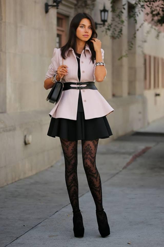 3f01539cf Se usan medias con vestido corto – Hermosos vestidos