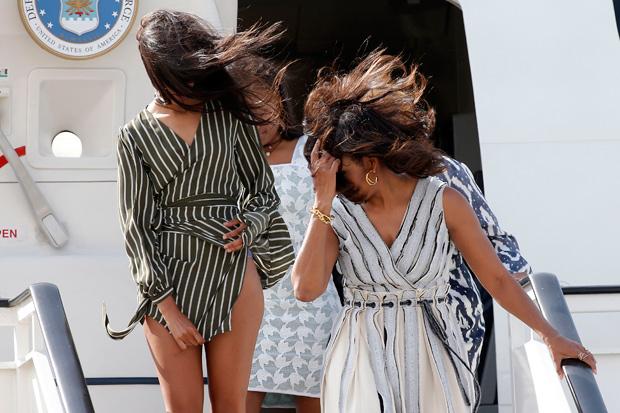 La Hija De Barack Obama Sufre Un Vergonzoso Momento Por