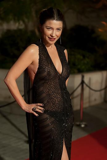 f87bec271c28 Con este osado vestido Francisca Merino sorprendió en la gala de ...