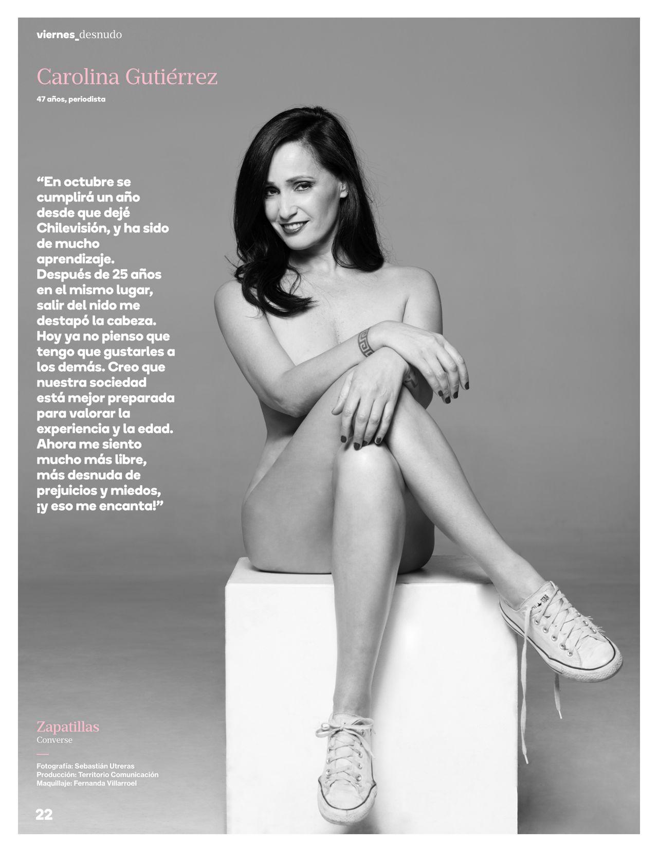 Conocida Periodista Se Atrevió A Posar Desnuda Para Una Revista Fmdos