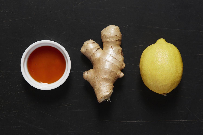 Té limón y jengibre