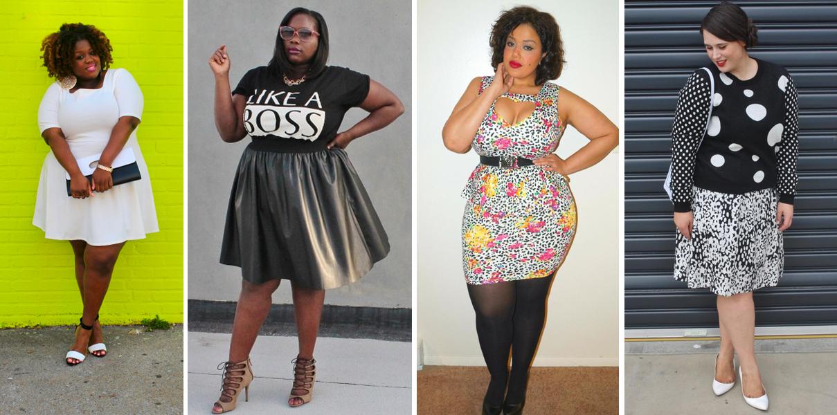 ¿Amante de la moda? Conoce a las 10 blogueras talla grande ...