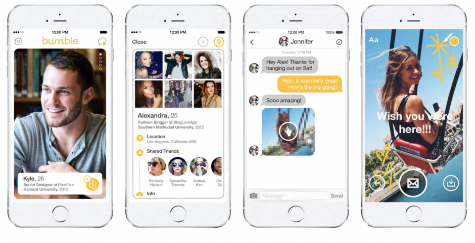 Bumble dating app ios android