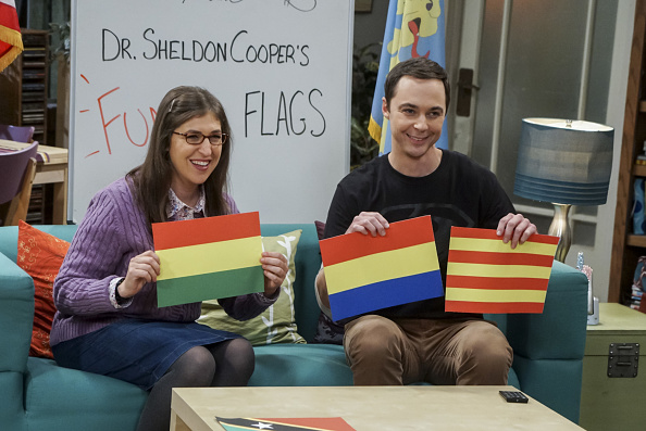 Mayim y Sheldon