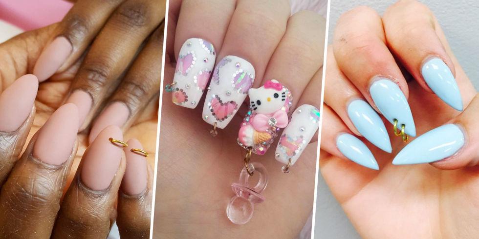 Pierced Nails La Extravagante Tendencia En Manicure Que La