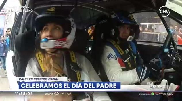 Carolina de Moras sufre accidente automovilístico en vivo