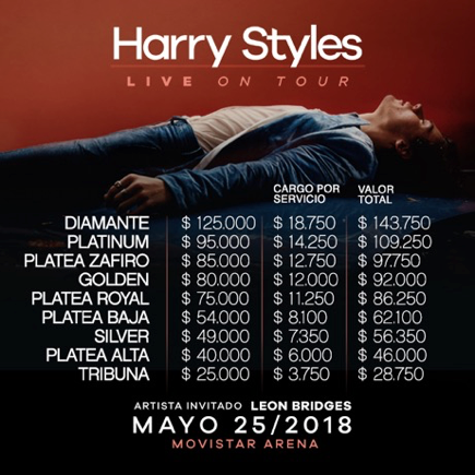 Harry Styles Chile