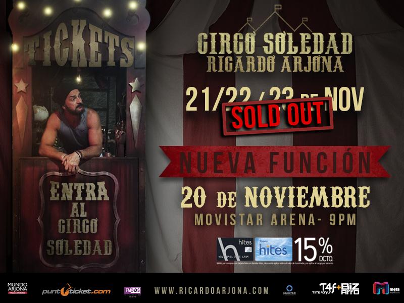 Ricardo Arjona cuarto concierto