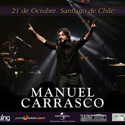 """Manuel Carrasco regresa a Chile con su gira """"Bailar el viento"""""""