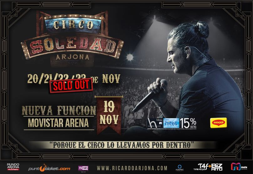 Ricardo Arjona concierto