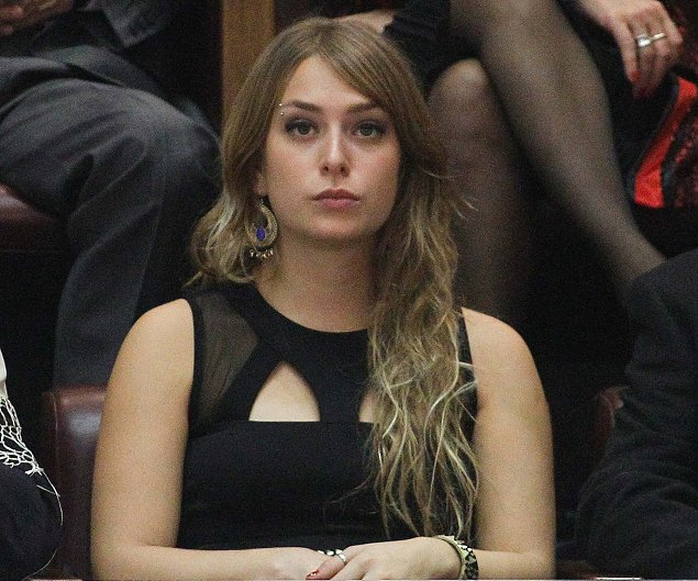 Michelle Bachelet hija