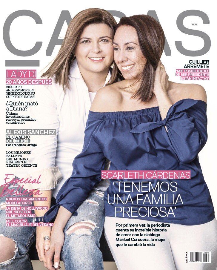 Scarleth Cárdenas presentó a su pareja y contó su linda historia de amor