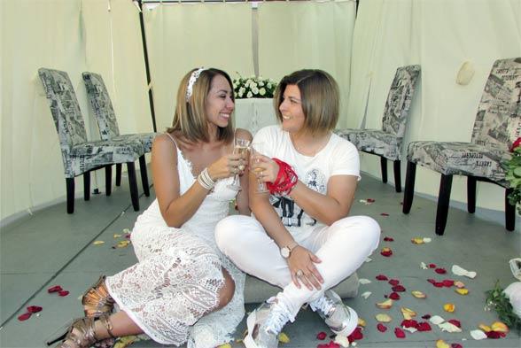 Scarleth Cárdenas presentó a su pareja y contaron su linda historia de amor