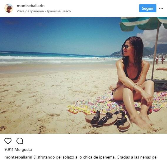 Montserrat Ballarin instagram