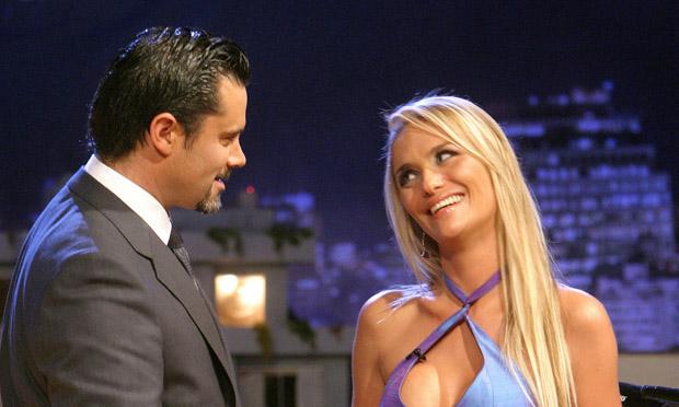 Kenita Larraín y Felipe Camiroaga