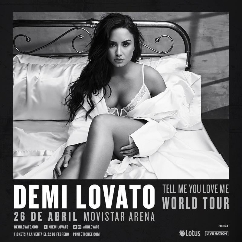 Demi Lovato Chile