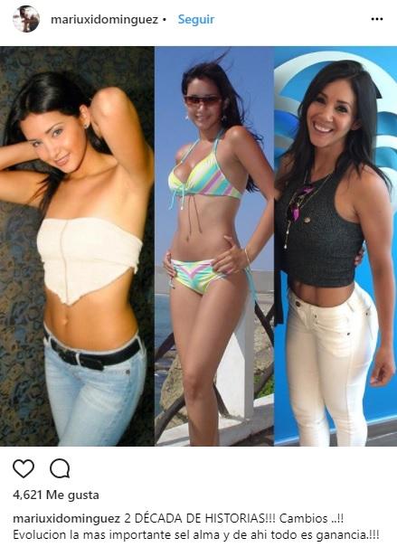 Mariuxi Dominguez instagram