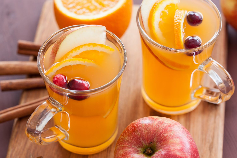 Sidra de naranja