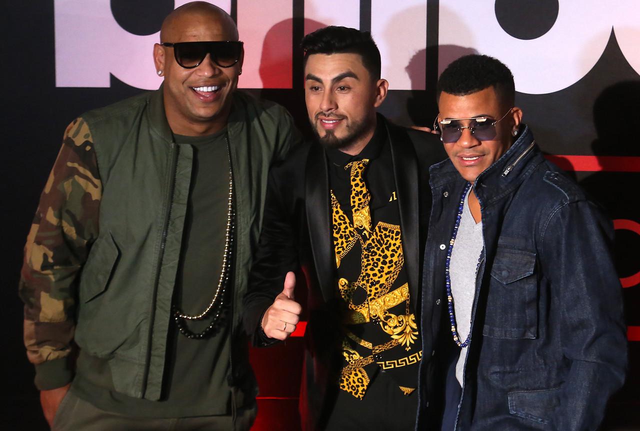 alfombra roja de los Billboard Latin Music Showcase Chile 2018