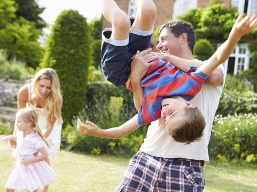 Beneficios de jugar en familia
