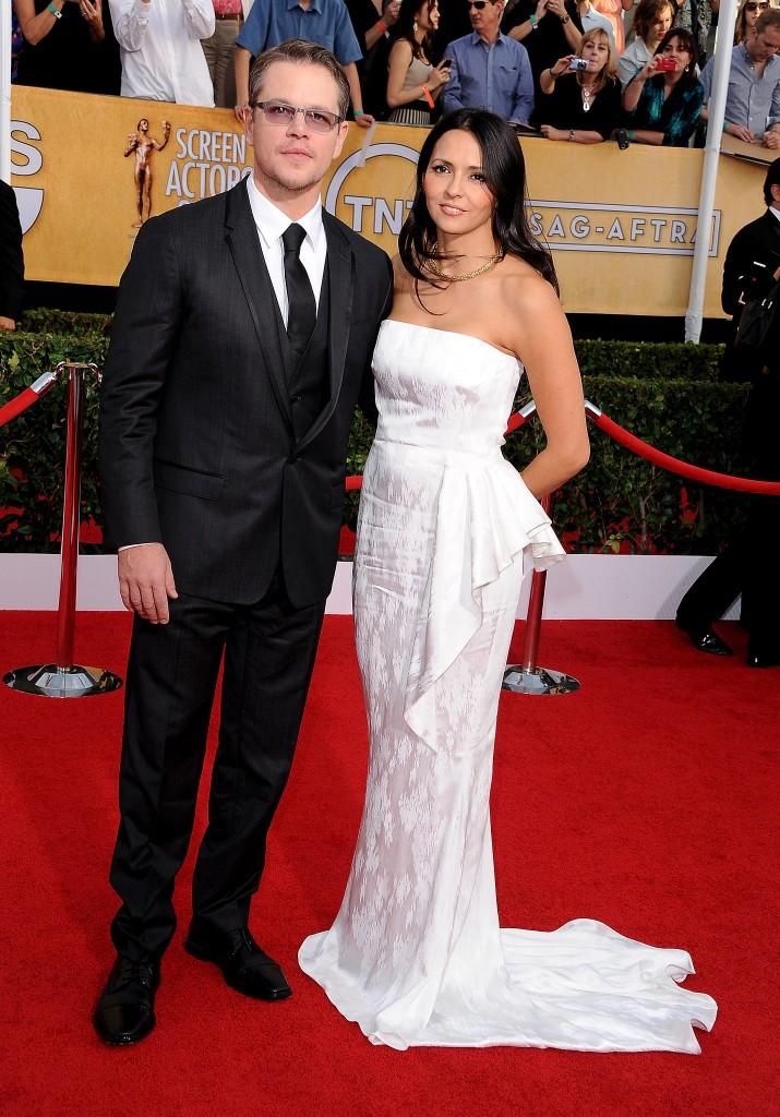 Matt Damon y Luciana Barroso 6