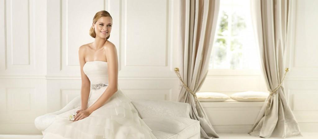 Vestidos de novia para baja estatura