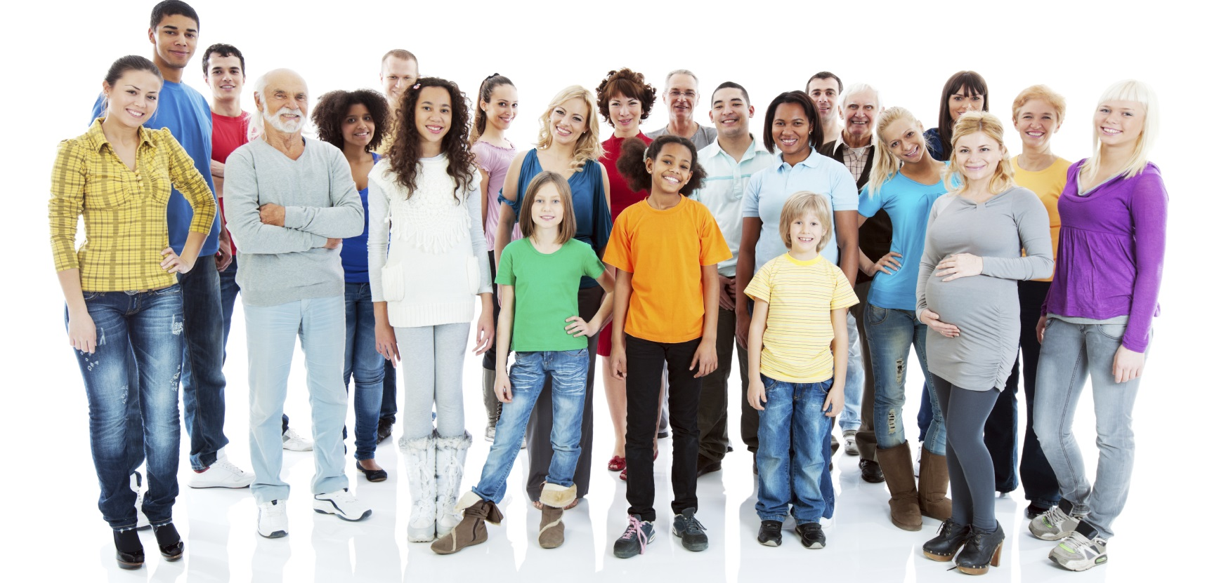 Large group of people standing together. They are isolated on white background. [url=https://www.istockphoto.com/search/lightbox/9786738][img]https://dl.dropbox.com/u/40117171/group.jpg[/img][/url]