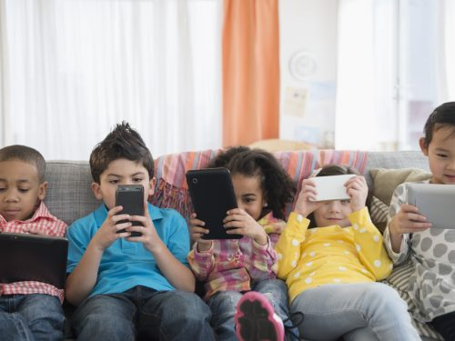 niños aplicaciones y tecnología