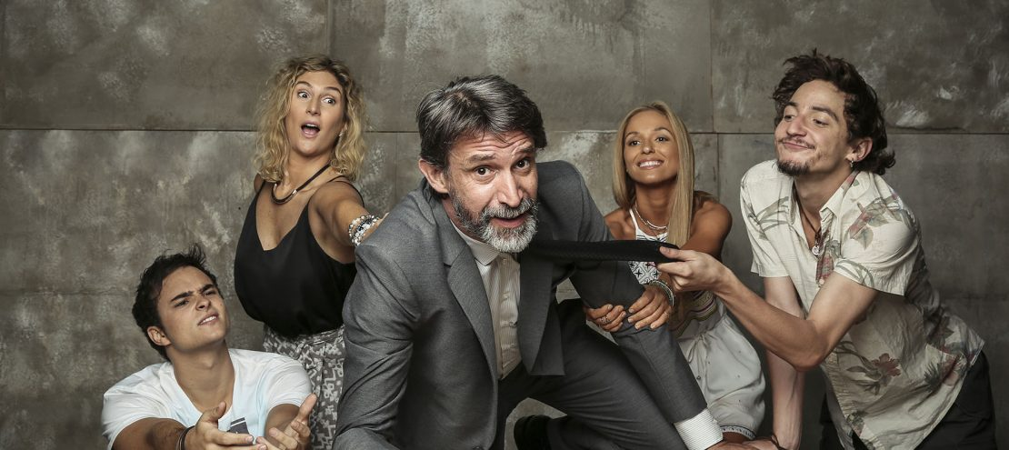 "Nueva teleserie de Mega ""Tranquilo papá"""
