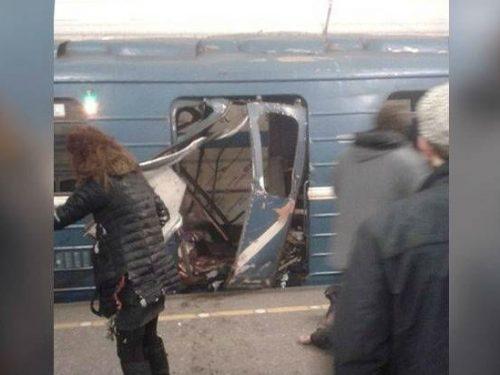 Explosión en metro de San Petersburgo, Rusia