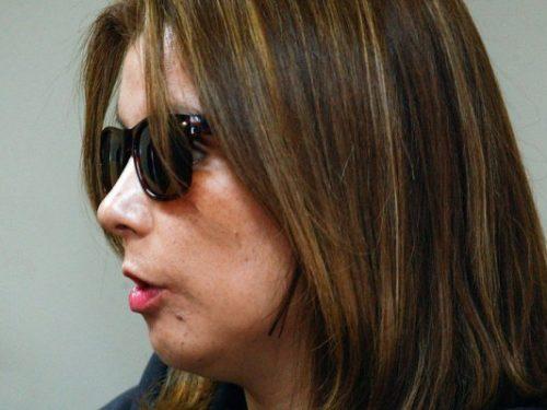 Nabila Rifo durante el juicio
