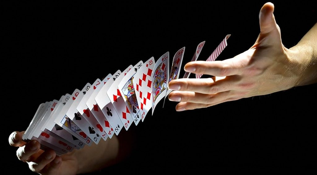ilusión con cartas