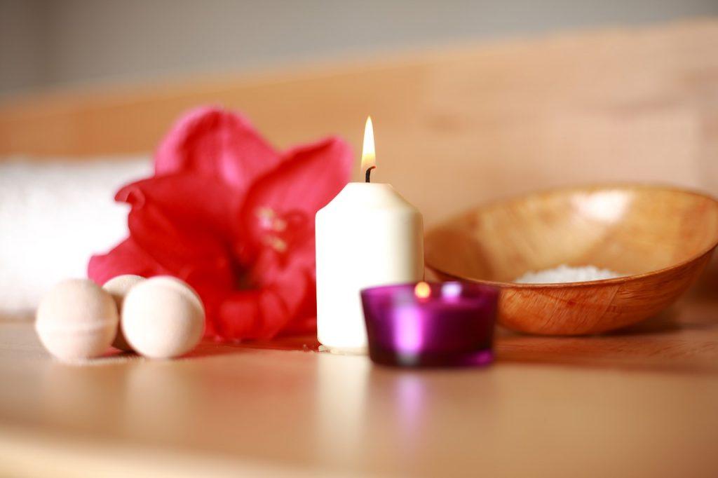 Velas para masajes