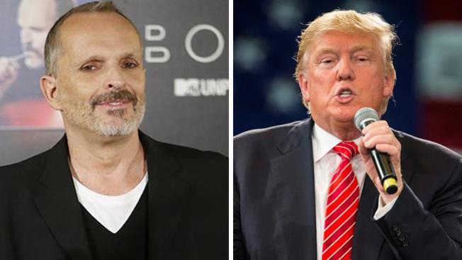 Miguel Bosé critica a Donald Trump