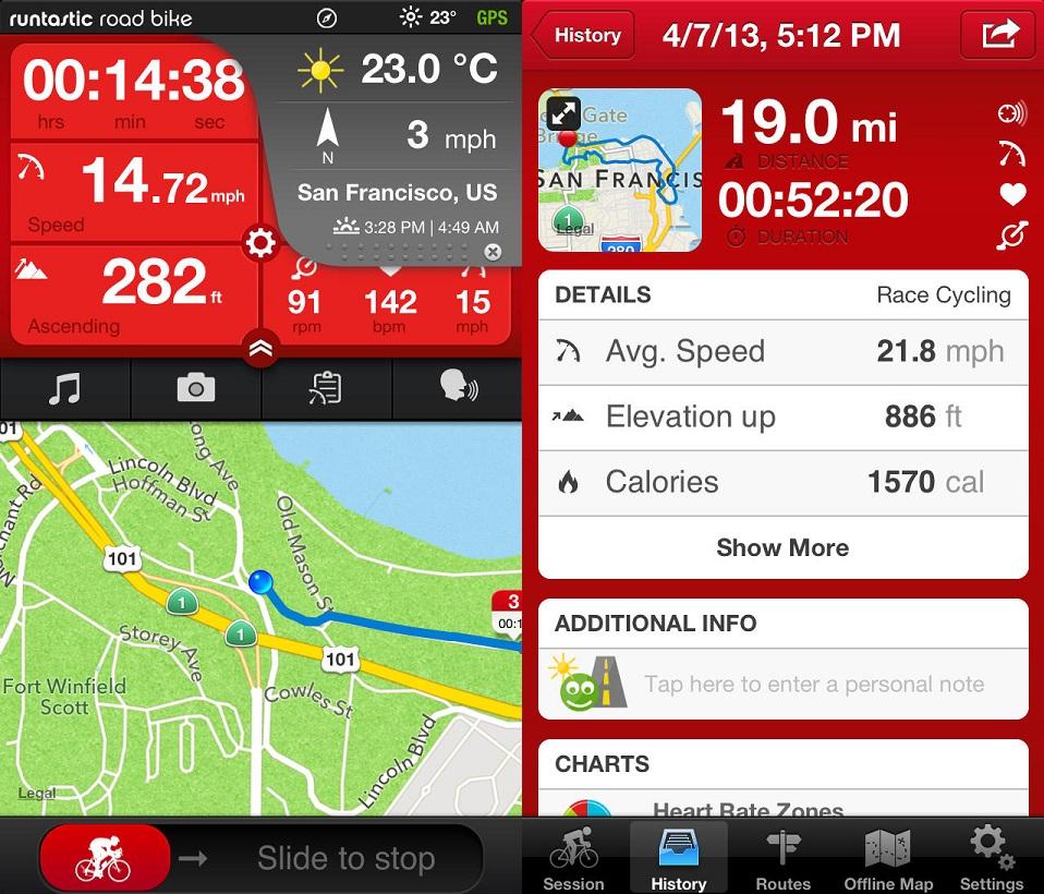 Aparatos tecnológicos y aplicaciones para motivarse y sacarle partido a la bicicleta