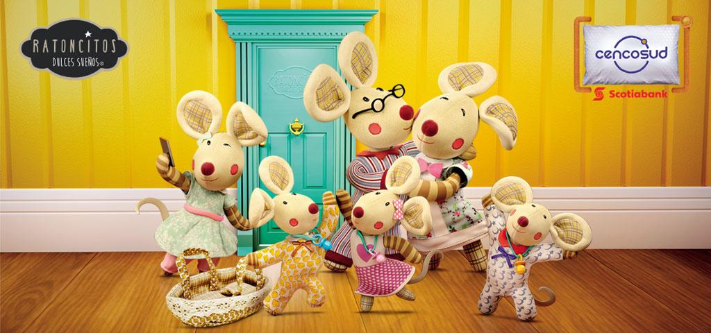 ¡Colecciónalos! Volvieron los Ratoncitos dulces sueños