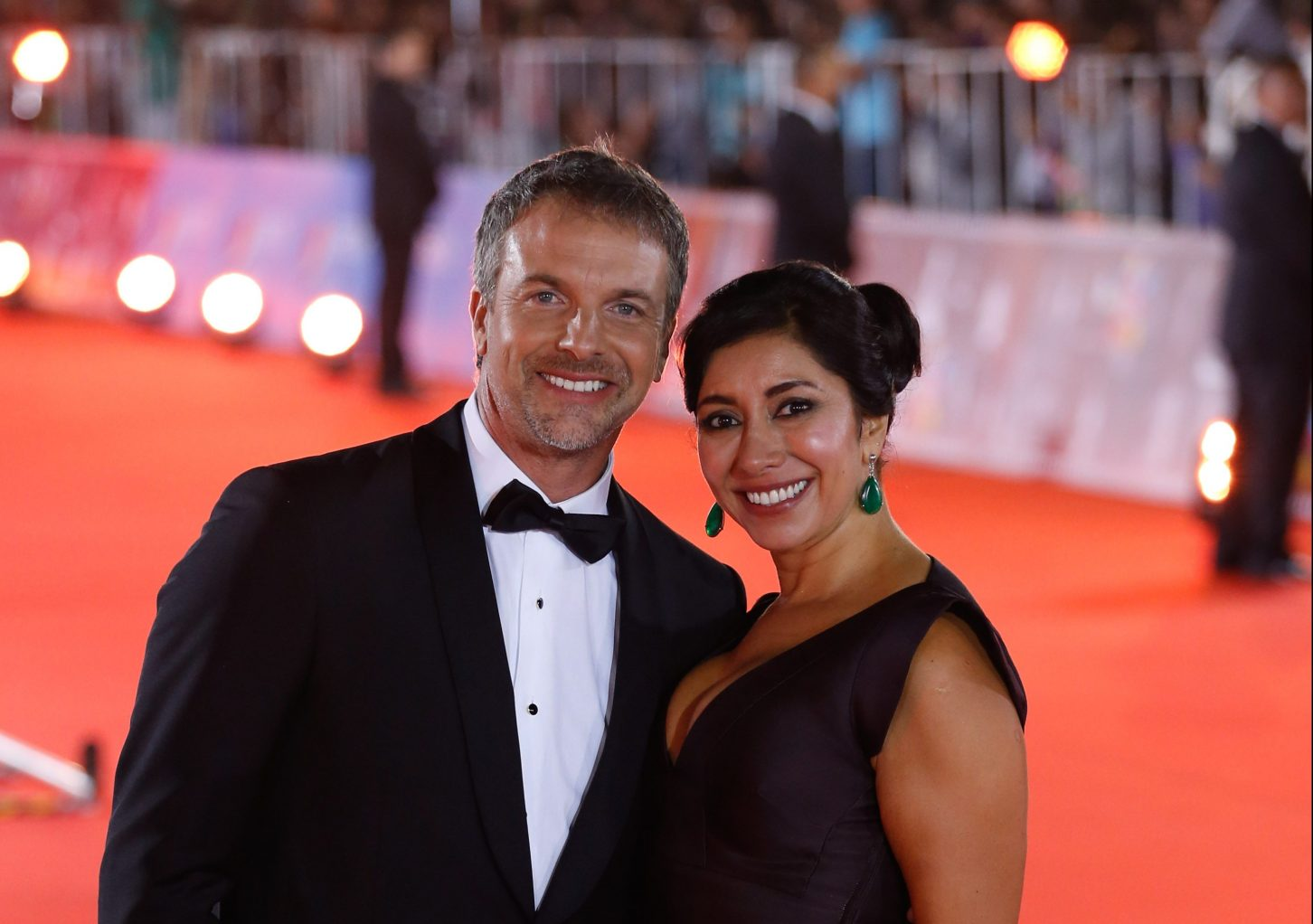 Carmen Gloria Arroyo y Bernardo Borgeat