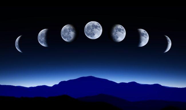 Luna creciente y corte de pelo