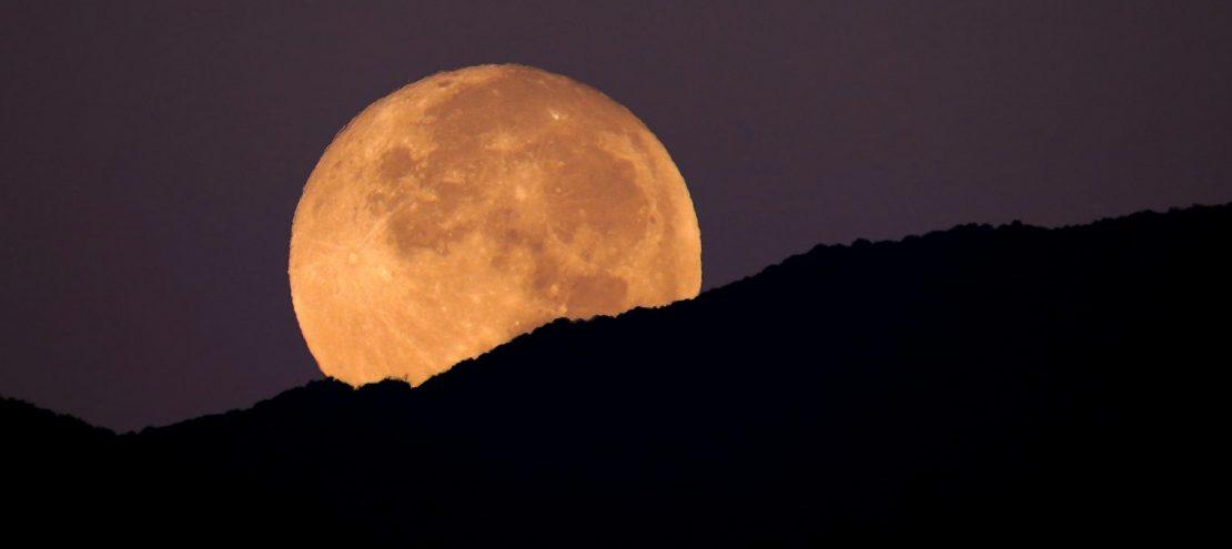 Estas son las mejores im genes que dej la superluna de for Hoy hay cambio de luna