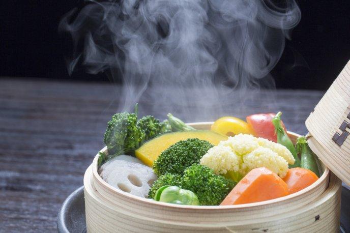 Resultado de imagen de vapor alimentos