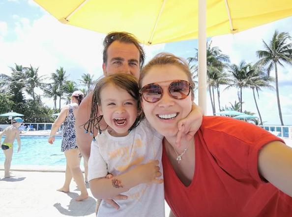 Carla Jara vacaciones