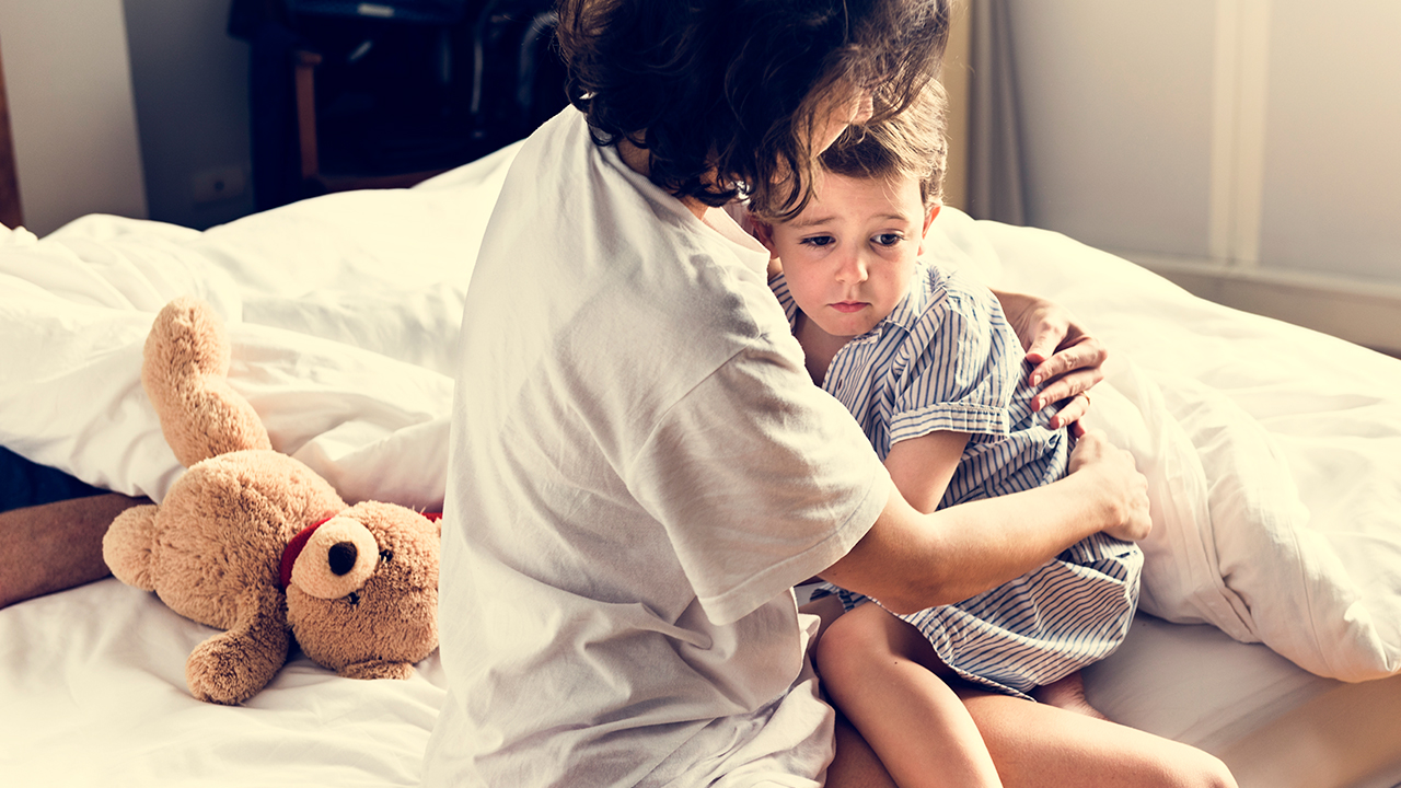 problemas para dormir en niños pesadillas