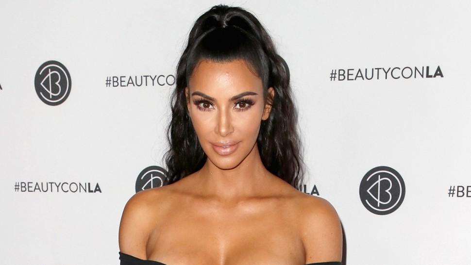 Kim Kardashian por fin mostró la carita de su bebé Psalm