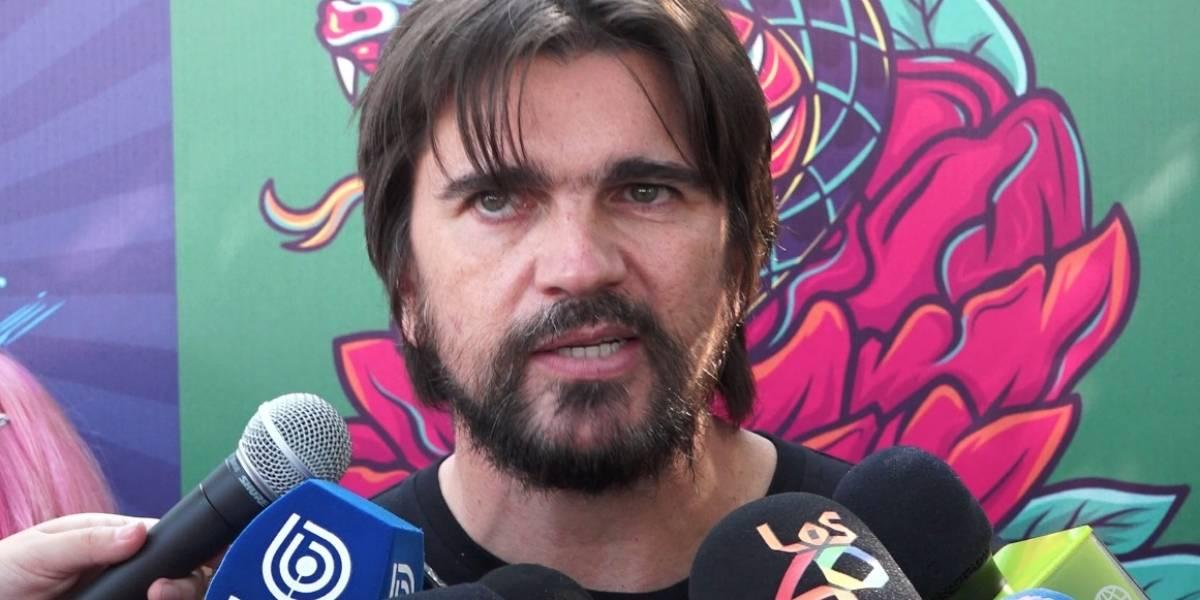 Juanes y las declaraciones de Miguel Bosé: