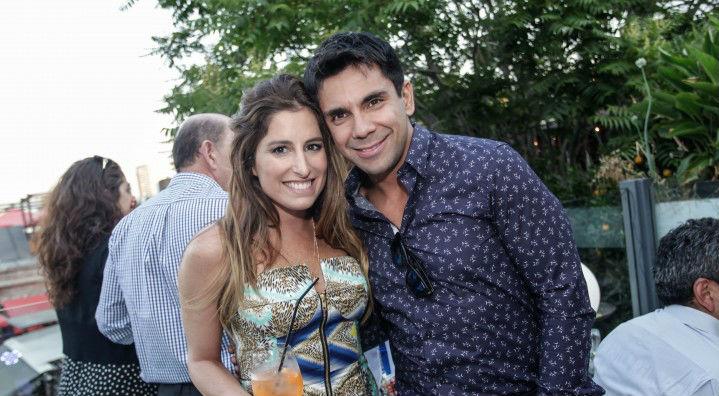 Juan Pablo Queraltó y Francisca Sfeir se casaron por segunda vez